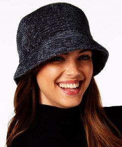 AUGUST HAT | כובע שניל שחור אוגוסט הט
