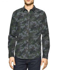 Calvin Klein | חולצה מכופתרת מיליטרי קלווין קליין