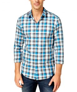 HUGO BOSS | חולצת משבצות הוגו בוס