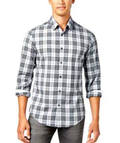 HUGO BOSS | חולצה מכופתרת משבצות הוגו בוס