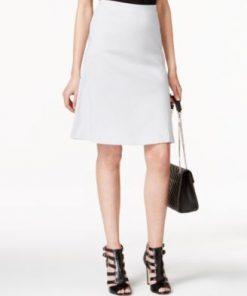 Alfani | חצאית טרפז אפורה אלפני