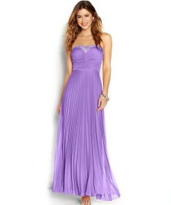 B.DARLIN | שמלת ערב מקסי סגולה