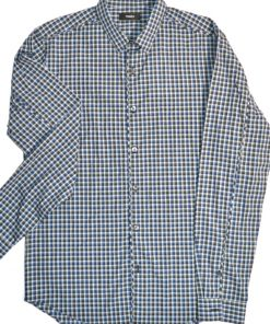 THEORY | חולצת משבצות קטנות אופנתית תאוריה