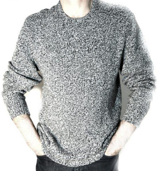 Calvin Klein   סוודר סילבר מול קלווין קליין