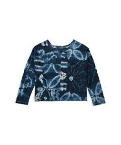 Ralph Lauren | חולצה אופנתית בהדפס ג׳ינס ראלף לורן