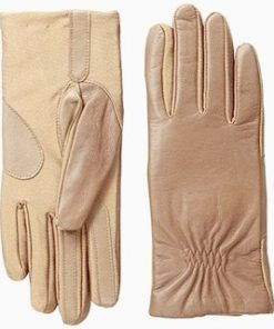 Isotoner | כפפות עור מגע לסמארטפון איזוטונר