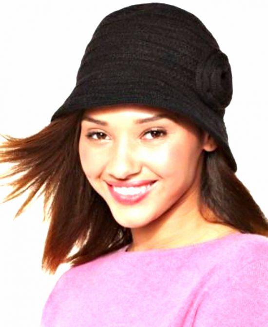 AUGUST HAT | כובע קלוש שחור אוגוסט הט
