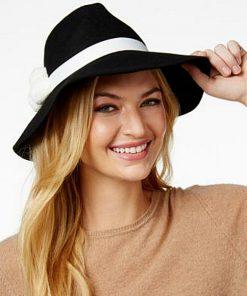AUGUST HAT | כובע נשים אלגנטי פוןפון אוגוסט הט