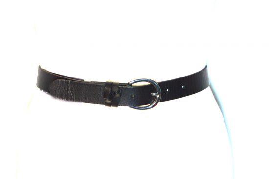 INC | חגורת ג׳ינס שחורה אייאנסי