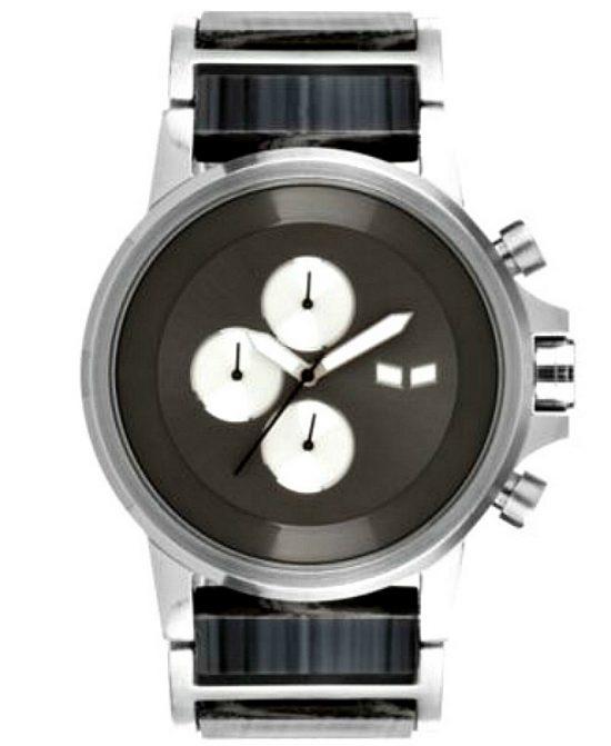 Vestal | שעון יוקרתי לגבר רצועת עץ שחור ווסטל