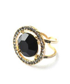 INC | טבעת פיישן בלאק איאנסי