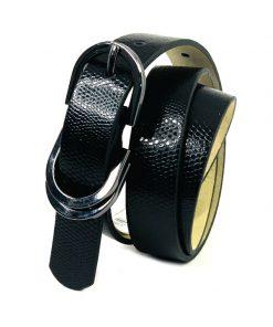 Style   חגורה אופנתית שחורה סטייל