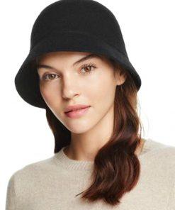 AUGUST HAT | כובע נשים אלגנטי שחור אוגוסט הט