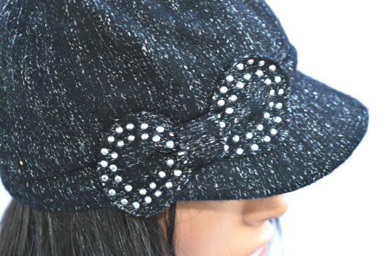 AUGUST HAT   כובע קסקט נוצץ אוגוסט הט