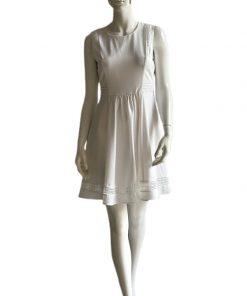 Maison Jules | שמלה לבנה פלייר מייסון ג׳ול