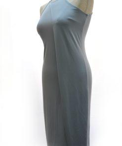 Bar | שמלה צמודה אפורה בר