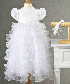 Ralph Lauren | שמלה לבנה יוקרתית ראלף לורן
