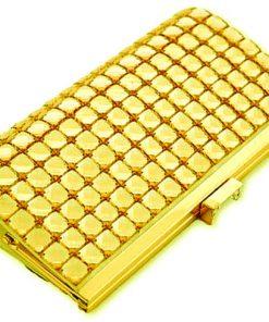 La Regale | תיק ערב זהב זוהר לארגאל