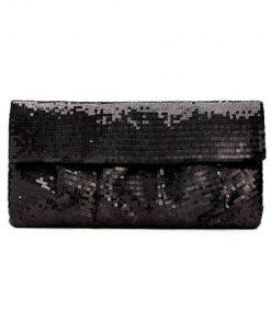 Style | קלאץ׳/תיק ערב שחור/נוצץ סטייל