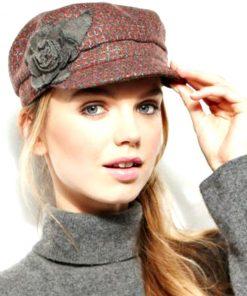 COLLECTION   כובע קסקט פרחים קולקשיין
