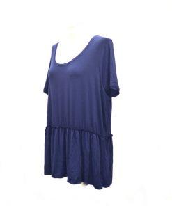 Bass | חולצה אוברסייז כחולה בס