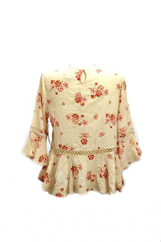 Ralph Lauren   חולצת פלורל ראלף לורן
