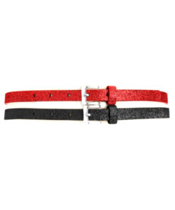 Style | סט 2חגורות אדום/שחור