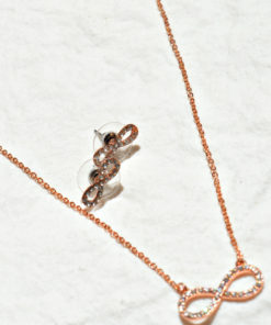 Jewelry | סט שרשרת תליון ועגילים אינפיניטי