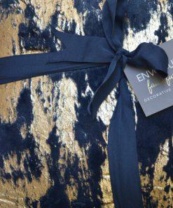 Envogue | כרית נוי פרווה יוקרתית כחול אנווג