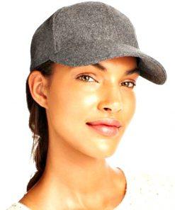 AUGUST HAT | כובע קסקט אפור אוגוסט הט
