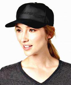 AUGUST HAT | כובע קסקט שחור ניילון אוגוסט הט