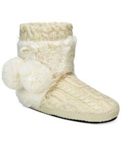 Muk Luks   נעלי בית סרוגות מאק לאקס