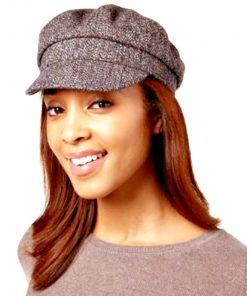 NINE WEST | כובע חום ניין ווסט