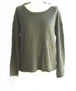 OHMG | סוודר זית אומיגד