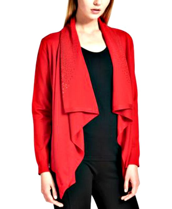 DKNY-Donna Karan   ג׳קט אדום דונה קארן