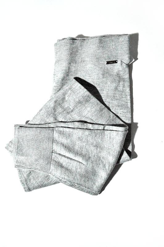 Calvin Klein   מכנס אריג אפור קלוין קליין