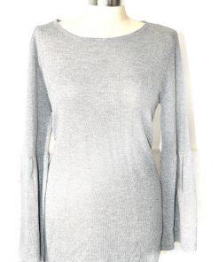 Calvin Klein | סוודר כסוף קלוין קליין