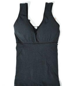 Leonisa | מחטב חולצה שחורה לאוניסה