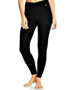 Calvin Klein | מכנס אריג שחור קלוין קליין