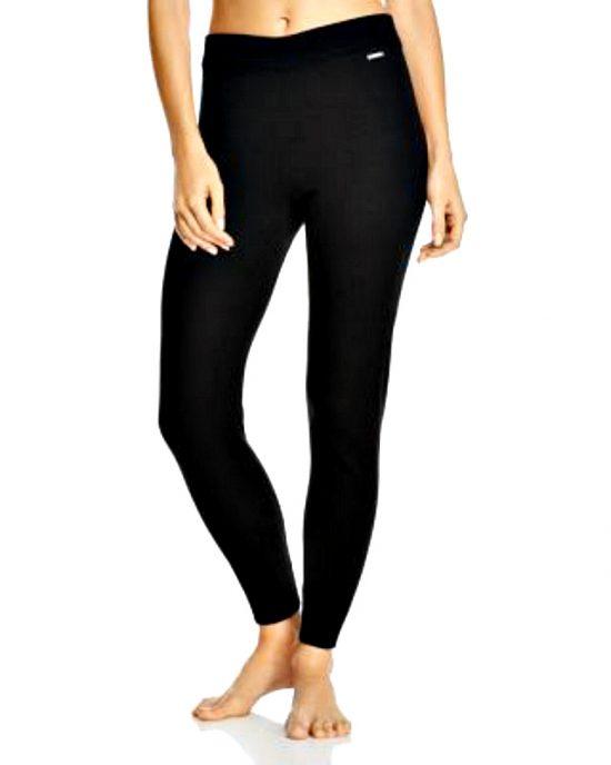 Calvin Klein   מכנס אריג שחור קלוין קליין