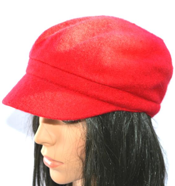 AUGUST HAT   כובע קסקט אדום אוגוסט הט