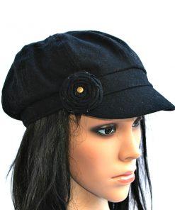 AUGUST HAT | כובע קסקט שחור ורוד אוגוסט הט