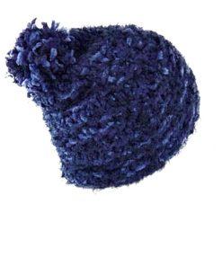 Charter Club | כובע פונפון כחול צ׳רטר קלאב