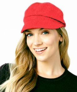AUGUST HAT | כובע קסקט אדום אוגוסט הט