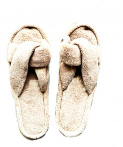 Charter Club | נעלי בית מגבת תכלת צ׳רטר קלאב