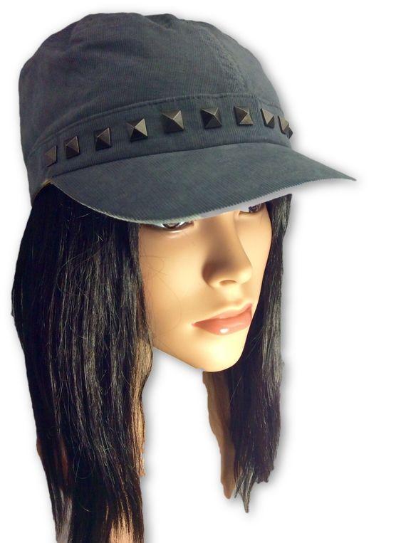 AUGUST HAT | כובע קורדרוי ניטים אוגוסט הט
