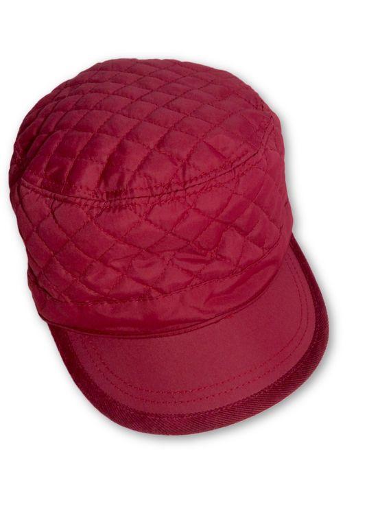 AUGUST HAT   כובע קסקט אדום ניילון אוגוסט הט