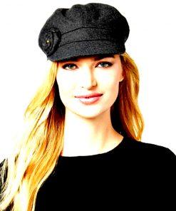 AUGUST HAT | כובע קסקט שחור ורד אוגוסט הט