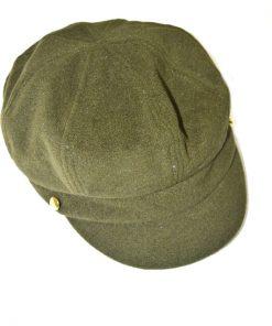 AUGUST HAT | כובע קסקט זית אוגוסט הט