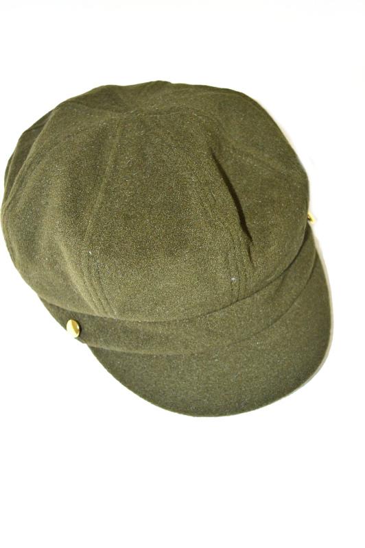 AUGUST HAT   כובע קסקט זית אוגוסט הט